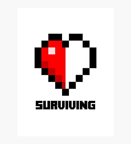 Gaming Heart Photographic Print