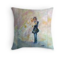 Wedding Dance Artist Designed Decor & Gifts Throw Pillow