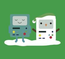 Building SnowMO (Green) Baby Tee