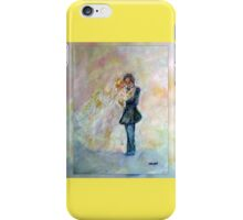 Wedding Dance Art Designed Gifts & Decor - Yellow iPhone Case/Skin