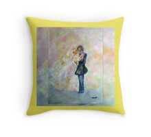 Wedding Dance Art Designed Gifts & Decor - Yellow Throw Pillow