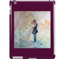 Wedding Dance Art Designed Decor & Gifts - Burgundy iPad Case/Skin