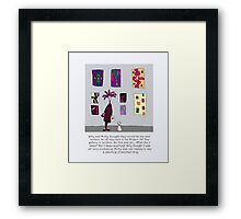 Silly Art Framed Print
