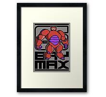 baymax stand Framed Print