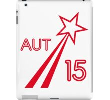AUSTRIA STAR 2015 iPad Case/Skin