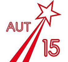 AUSTRIA STAR 2015 Photographic Print