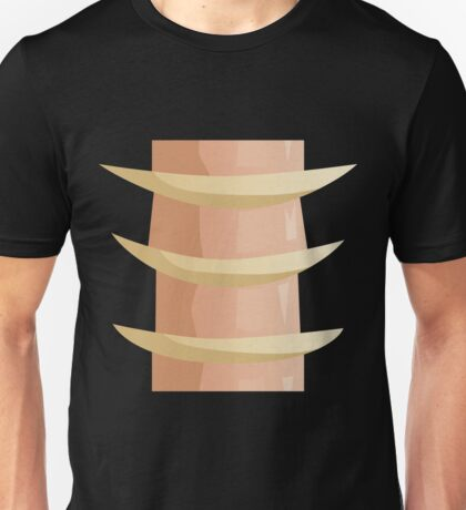 Glitch Ix Land  bone ladder spine 01 Unisex T-Shirt