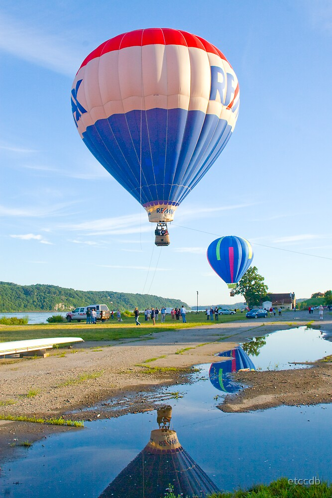 hot air balloons a by etccdb