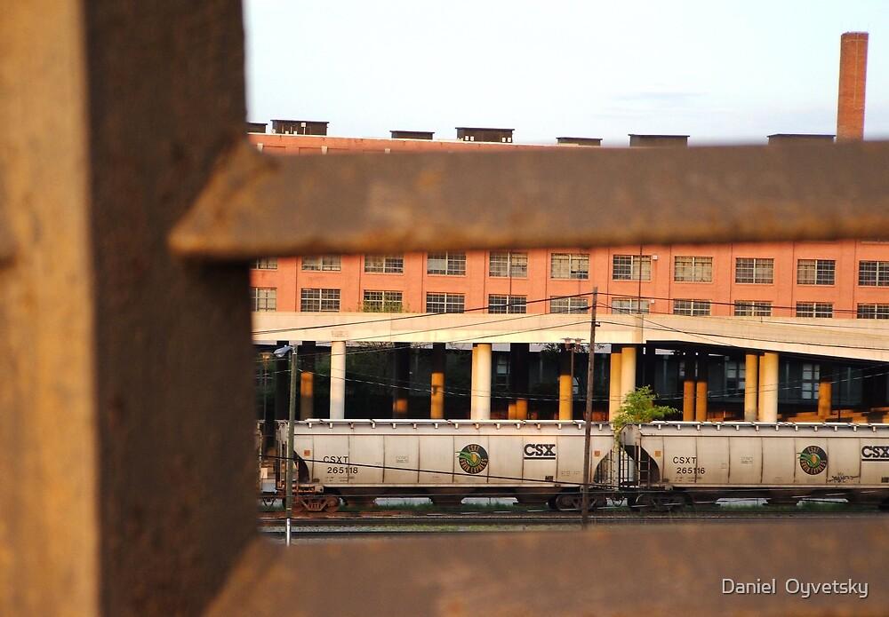 Trains through Steel by Daniel  Oyvetsky