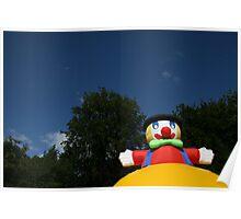 Super Happy Fun Clown Poster