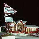 Thunderbird Motor Inn, Lake George NY 1960's by aladdincolor