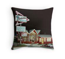 Thunderbird Motor Inn, Lake George NY 1960's Throw Pillow