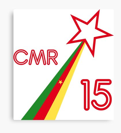 CAMEROON STAR 2015 Canvas Print