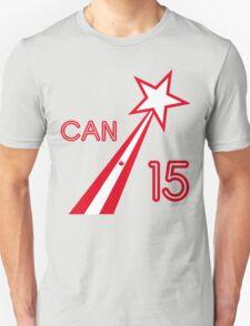 CANADA STAR 2015 Unisex T-Shirt