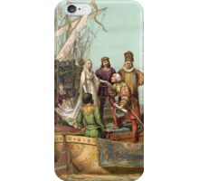 First Voyage of Christopher Columbus iPhone Case/Skin