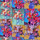Flower collage by Richard  Tuvey