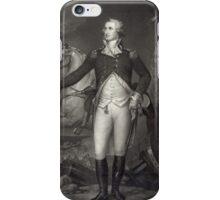 George Washington on the Battlefield iPhone Case/Skin