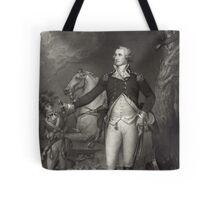 George Washington on the Battlefield Tote Bag