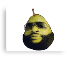 Rick Ross the pear Canvas Print