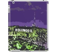Hollywoodland (in Purple & Green) iPad Case/Skin