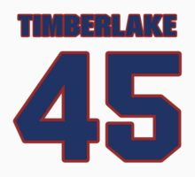 National baseball player Gary Timberlake jersey 45 by imsport