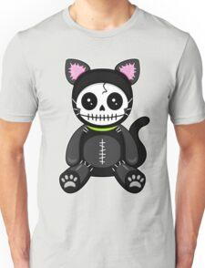Dead Inside Skull Cat Unisex T-Shirt