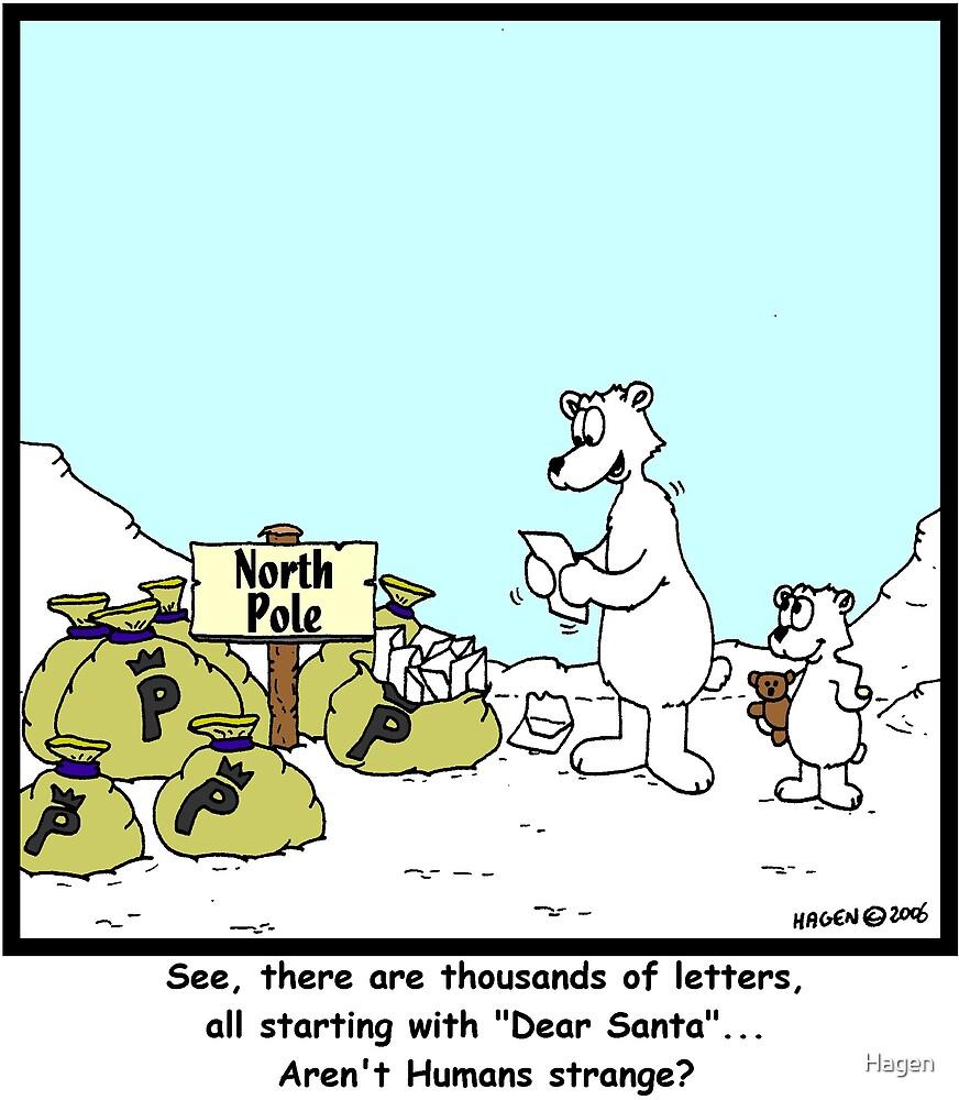 Santa's Letters by Hagen