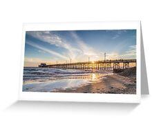 Newport Beach Pier 1 Greeting Card