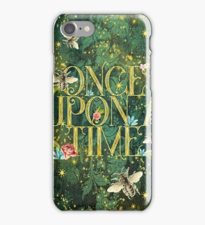 Bee Once Upon a Time iPhone Case/Skin