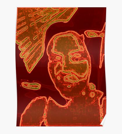 orange face Poster