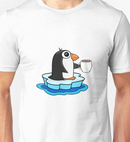 Penguin Coffee Unisex T-Shirt