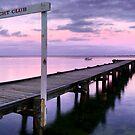 Davey's Bay Yacht Club by Sam Sneddon