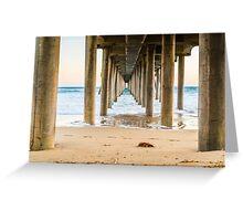 Newport Beach Pier 4 Greeting Card