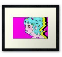 Space Princess Framed Print