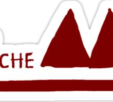 Depeche Mode : Logo 2013 Red Sticker