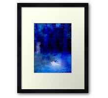 Driven Point Framed Print