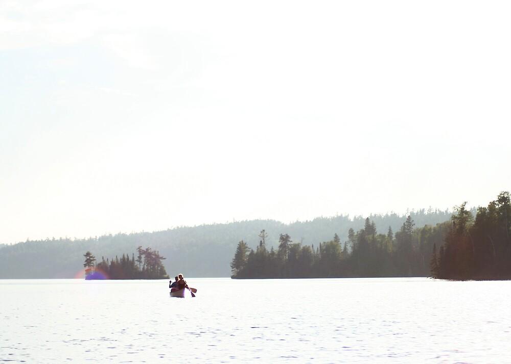 Canoeing the BWCA by sara montour