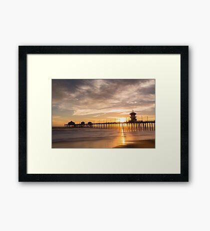Newport Beach Pier 5 Framed Print