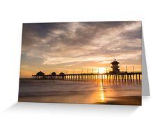 Newport Beach Pier 5 Greeting Card