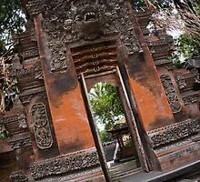 The Gate - Bali Temple by redashton
