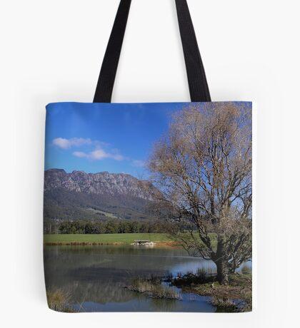 Australia - Tasmania, Mt Roland Tote Bag