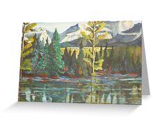 Banff, Canada Greeting Card