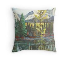 Banff, Canada Throw Pillow
