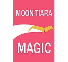 Moon Tiara Magic [Moving] Photographic Print