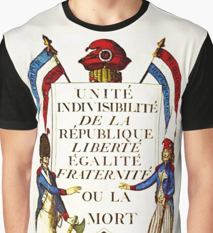 French Revolution Poster Graphic T-Shirt