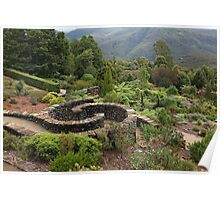 Blue Mountains Botanic Gardens Poster