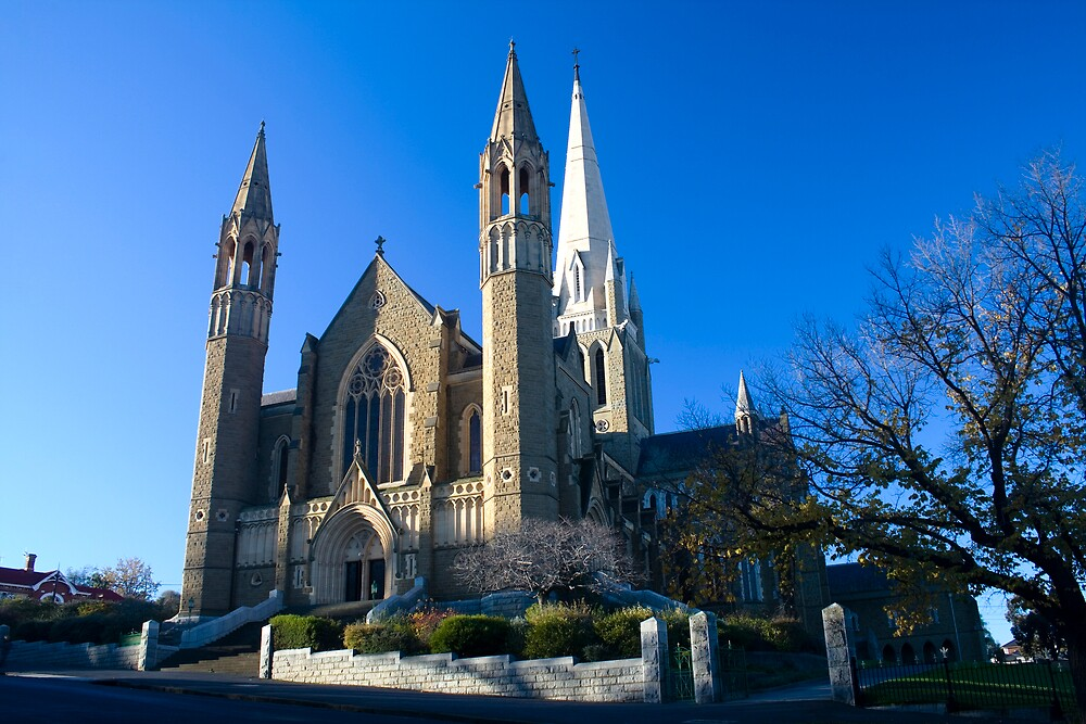 Bendigo Sacred Heart Cathedral by Marcus Mawby