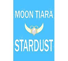 Moon Tiara Stardust Photographic Print