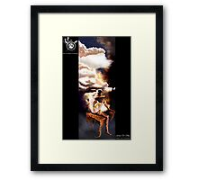 Fairy Of Sky Framed Print