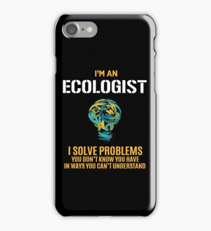 ECOLOGIST solve problems iPhone Case/Skin